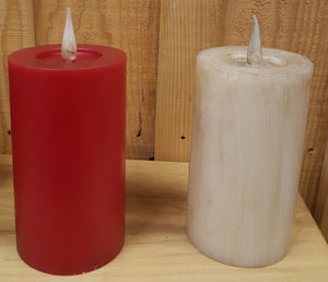 "Flameless 6"" Pillar Candle"