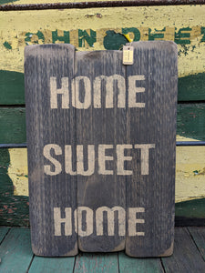 Home Sweet Home Handmade Wooden Sign