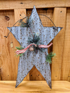 Metal Christmas Star