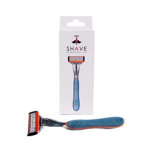 Cartridge Razor Handle (5-Blade) - Shave Essentials