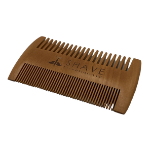 Wood Beard Comb - Shave Essentials