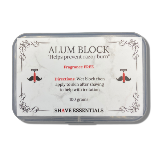 Alum Block - Shave Essentials