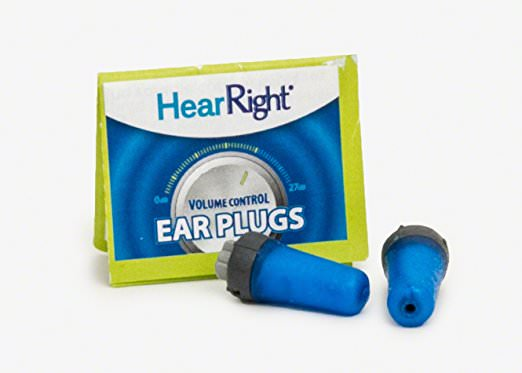Oordoppen HearRight Volume Control Ear Plugs
