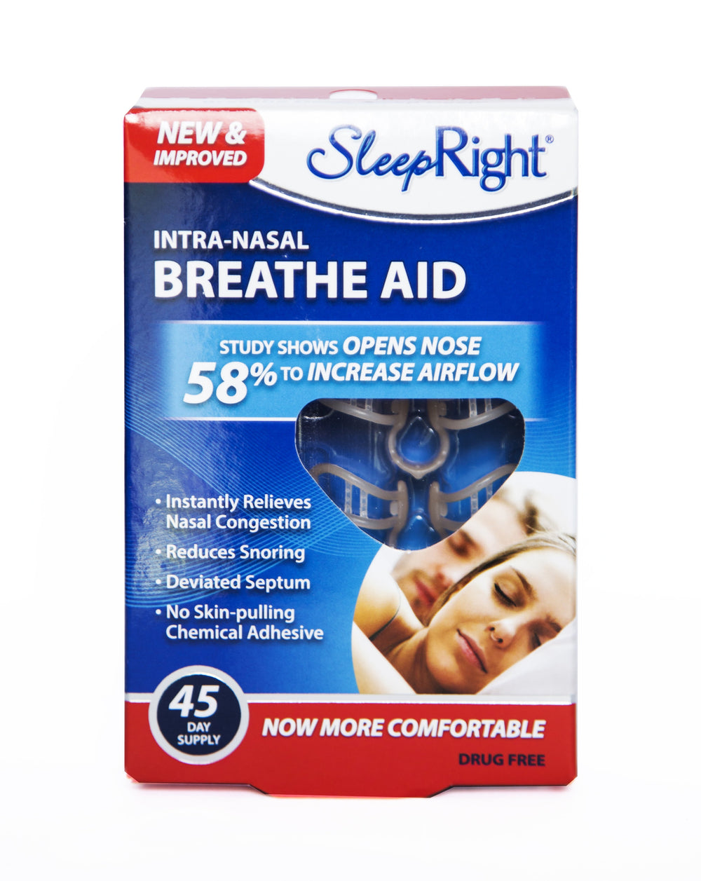 SleepRight Breathe Aid 3 pack Neusspreider - oude verpakking