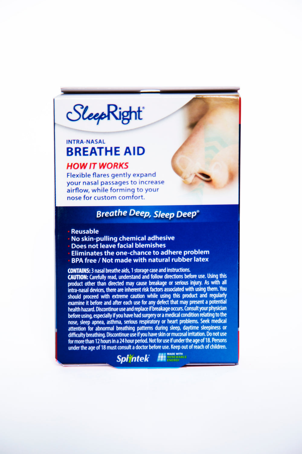 Breathe Aid Neusspreider - 3 pack