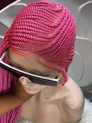 Hot Pink Lemonade Braids