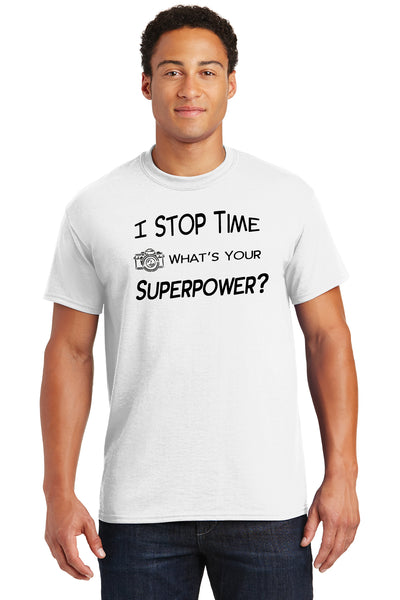 I stop time. What is your Superpower?