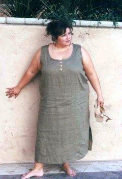 Easy Tank Dress - multiple natural fiber fabrics