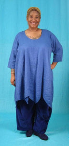 Charlotte Tunic - multiple woven fabrics and necklines
