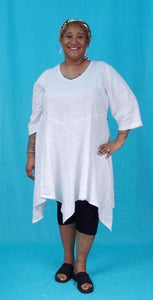 Tinkerbell Tunic - multiple woven fabrics and necklines
