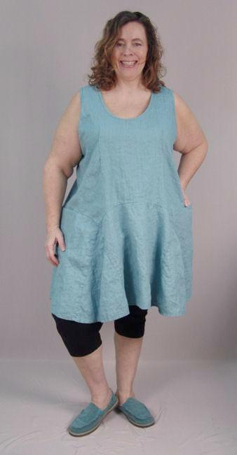 Corset Back Nixie Tank Tunic - multiple fabrics