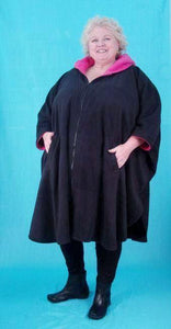 Cape Style Coat - Polar Fleece
