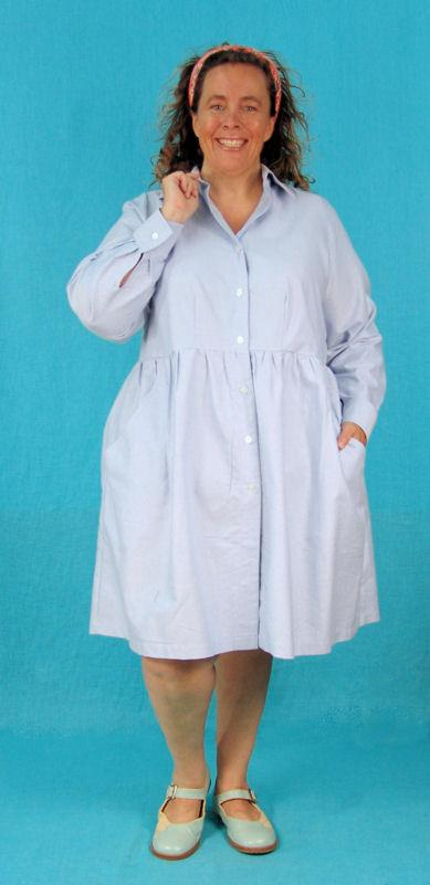 Jessica Shirt (or dress) - Multiple Fabrics