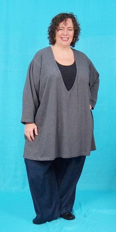 Essential A-line Tunic Top - multiple necklines and fabrics