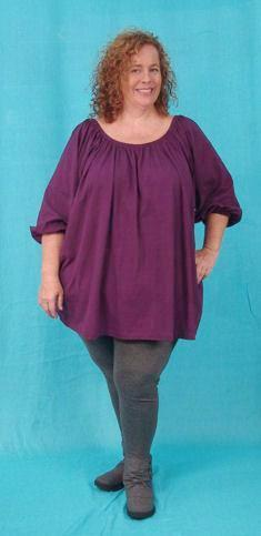 Peasant Tunic - multiple fabrics