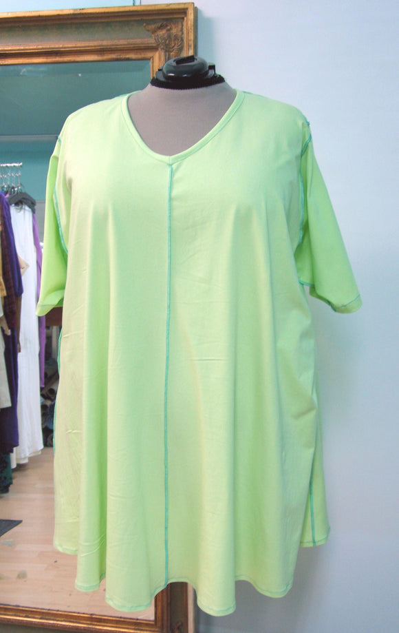 Swing Tunic with reverse seaming