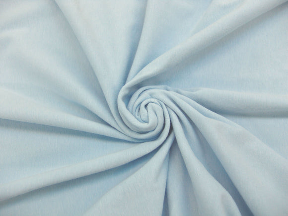 C1 - Cotton Spandex Jersey Knit - light blue *