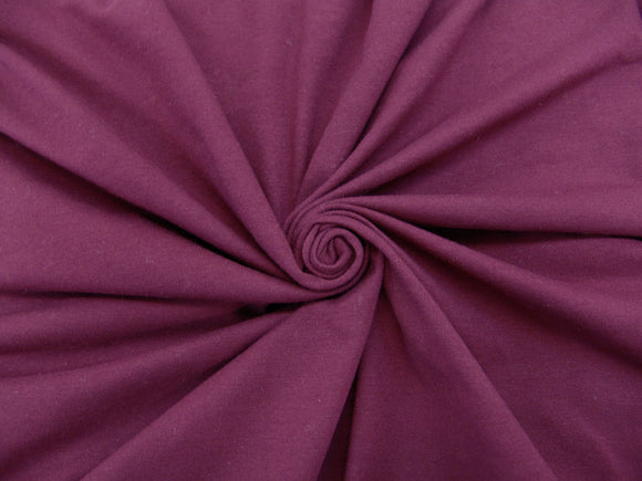 C1 - Cotton Spandex Jersey Knit - 10 oz - merlot *