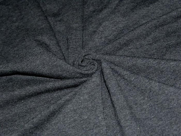 C1 - Cotton Lycra Jersey Knit - 10 oz - charcoal *