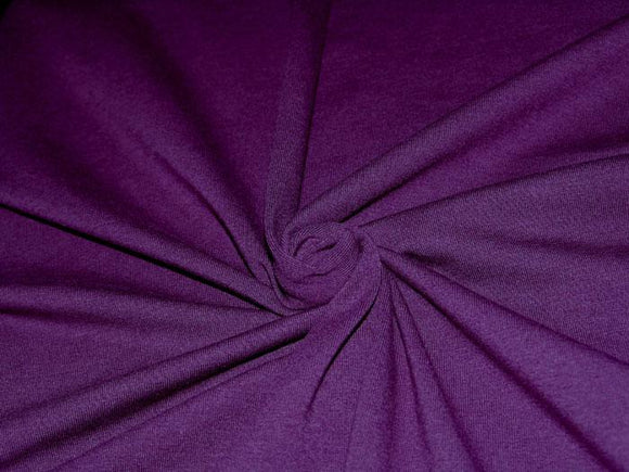 C1 - Cotton Lycra Jersey Knit - 10 oz - eggplant *