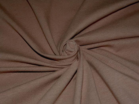 C1 - Cotton Spandex Jersey Knit - 10 oz - mocha *
