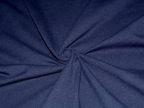 C1 - Cotton Spandex Knit - 10 oz - navy *