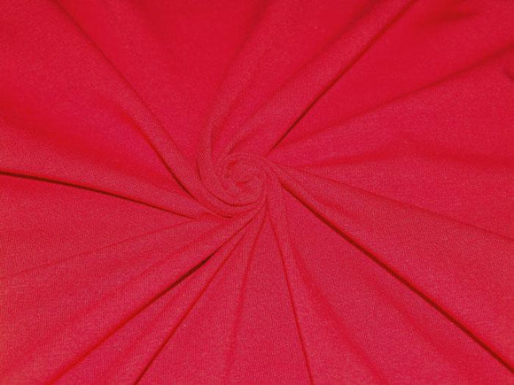 C1 - Cotton Spandex Jersey Knit - 10 oz - red *