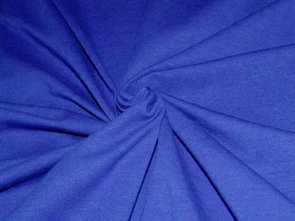 C1 - Cotton Spandex Jersey Knit - 10 oz - royal blue *