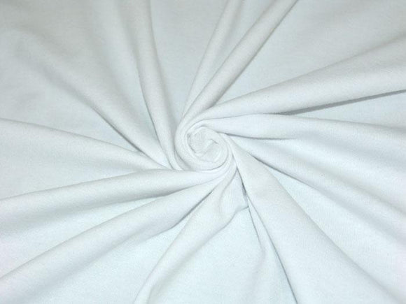 C1 - Cotton Spandex Jersey Knit - 10 oz - white *