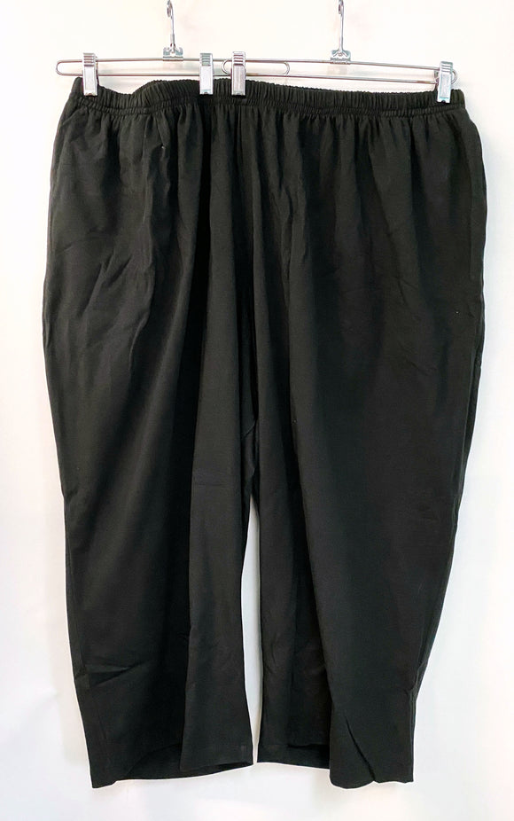 Petite Full Leg Pants - Size 5x - Cotton Lycra Jersey*