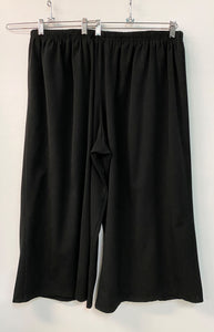 Very Full Crop Pants - Size Med - Stretch Gabardine