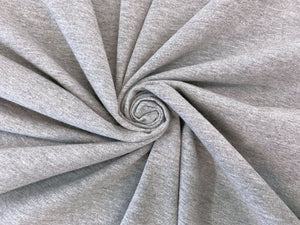 C1 - Cotton Spandex Knit - 10 oz - light heather gray *