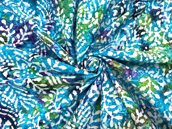 C13.2 - Woven Cotton - cool summer batik **