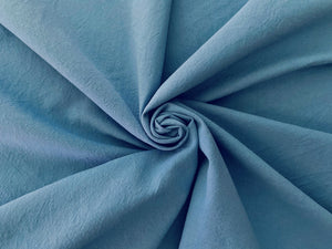C2 - Cotton Crinkle Premium Weight - air force blue **