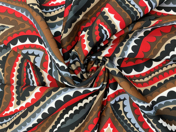 SW - Swimsuit Fabric - Maori motif