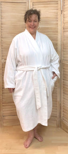 Bathrobe Photo Sample - 4x - Cotton Terry Cloth *****