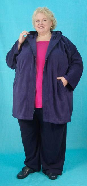 Hooded Jacket - multiple fabrics