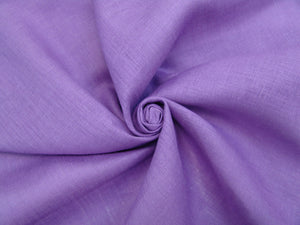 L1 - Linen - hanky weight - deep lilac *****