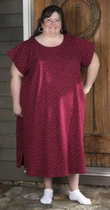 Scoop Neck Nightgown - multiple fabrics