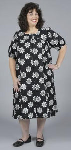 Classic Panama Dress with Button Front - multiple fabrics