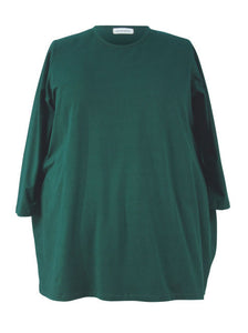 Narrow Shoulder Big Tee - Cotton Jersey Knits