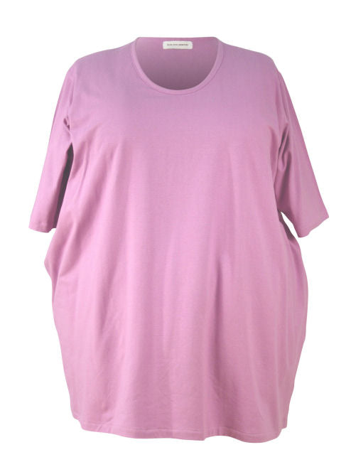 Medium Width Shoulder Big Tee - Cotton Lycra Jersey