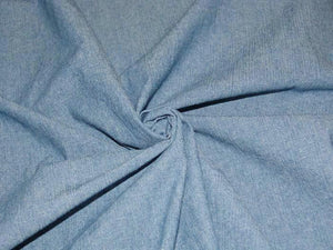 C3.1 - Cotton Chambray - solid - medium blue **