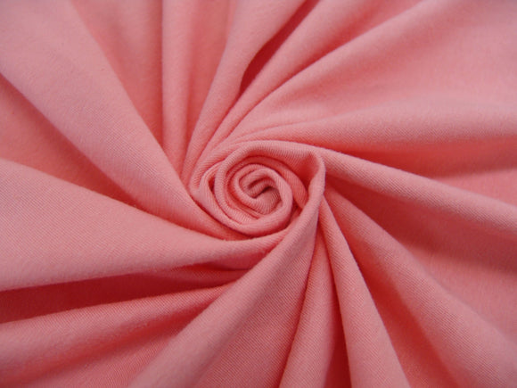 C1 - Cotton Spandex Jersey Knit - 10 oz - coral ice *