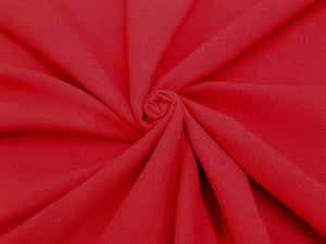 C2 - Cotton Crinkle - ruby **