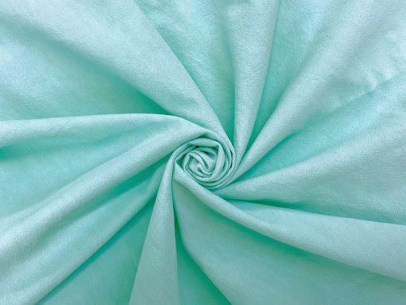 C2 - Cotton Crinkle Premium Weight - seafoam **