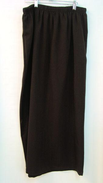 Slightly Tapered Skirt - Stretch Gabardine - 2x