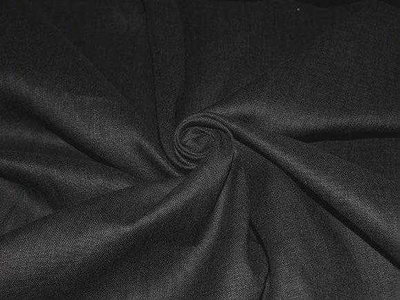 L1 - Linen - hanky weight - black *****