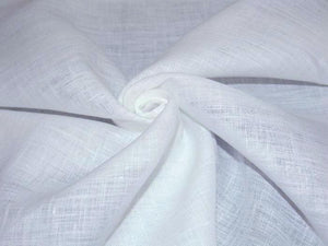L1 - Linen - hanky weight - white *****