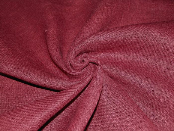 L2 - Linen - medium weight - red delicious *****